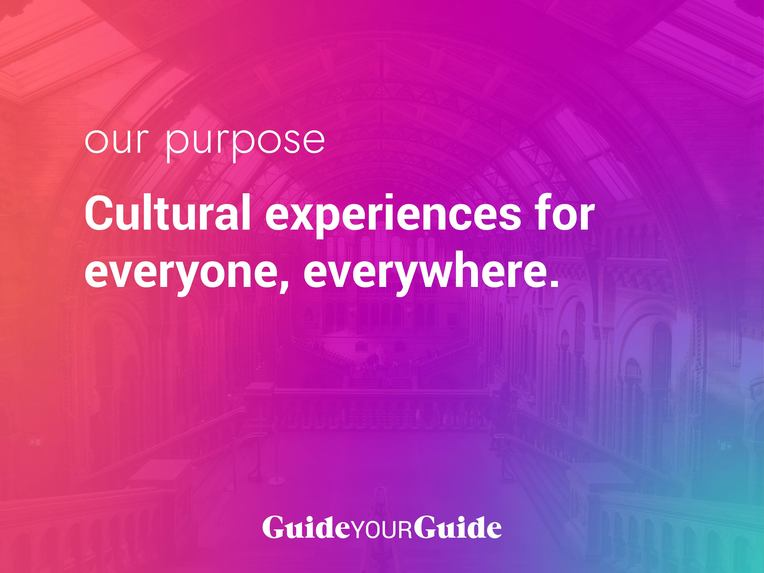 Guided: Experience culture from home (ex: GuideYourGuide) – screenshot 1