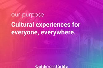 Guided: Experience culture from home (ex: GuideYourGuide)