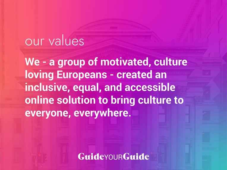 Guided: Experience culture from home (ex: GuideYourGuide) – screenshot 2