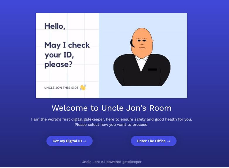 Uncle Jon Gatekeeper: Zero Dollar realtime security guard – screenshot 1