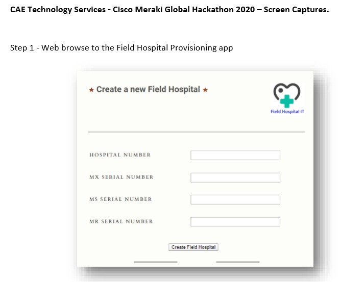 Automated Network Deployment & Support Healthcare App – screenshot 1