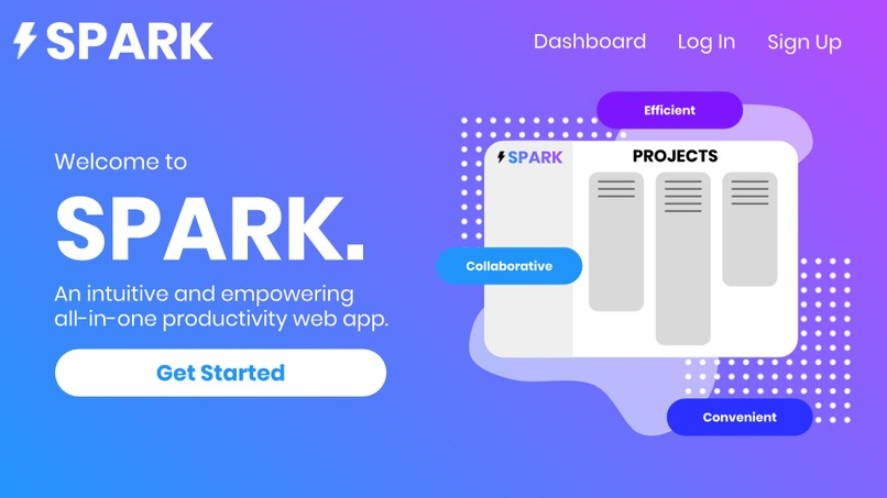 Spark – screenshot 1