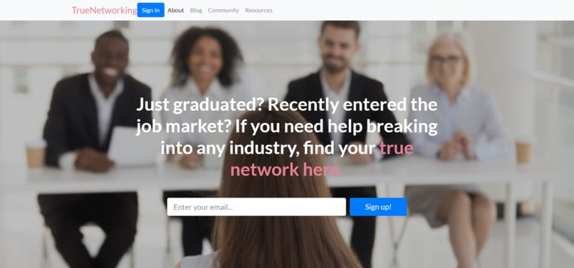 True Networking – screenshot 1