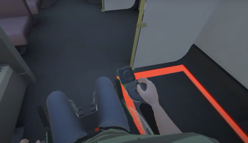 VR Therapy / Training  for Wheelchair Control  – screenshot 3