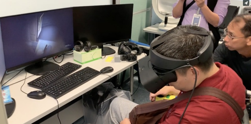 VR Therapy / Training  for Wheelchair Control  – screenshot 1