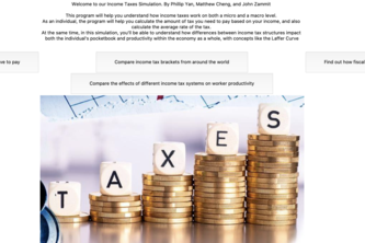 An Educational Simulation of Income Taxes
