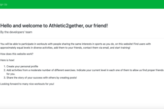 Athletic2gether