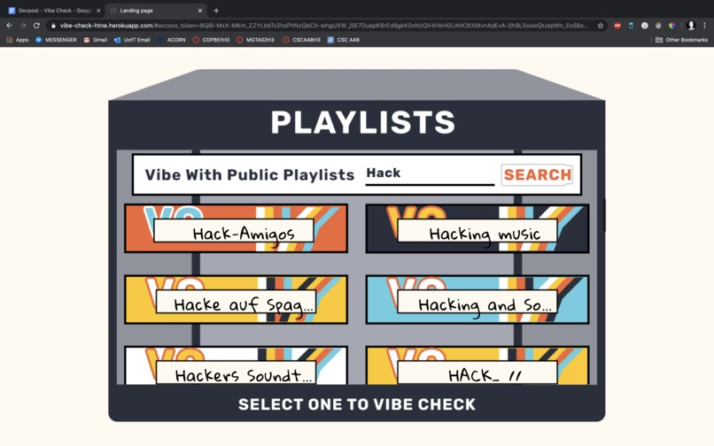 Vibe Check – screenshot 4