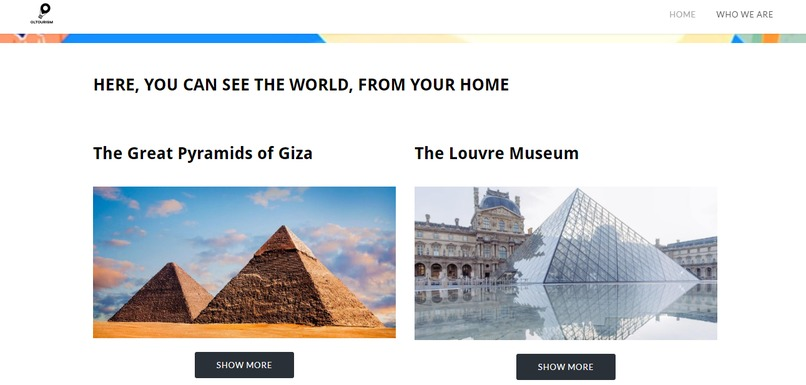 Online Tourism – screenshot 4
