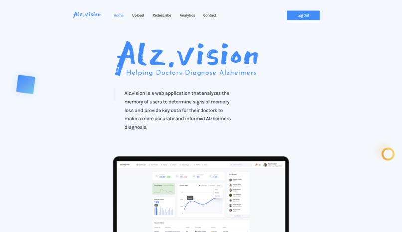 Alz.vision – screenshot 1