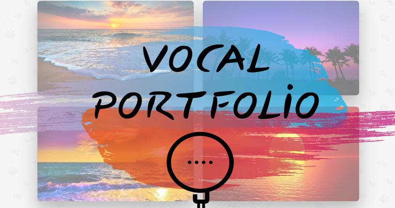 Vocal Portfolio – screenshot 1