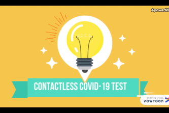 Contactless Covid Test & Personalized Diet Suggestions - AI