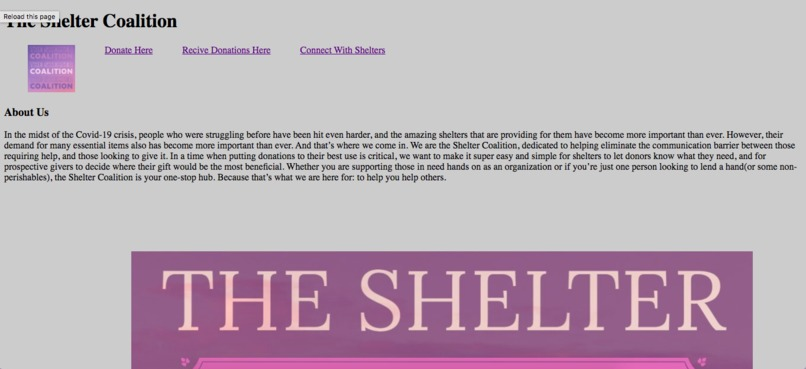 The Shelter Coalition – screenshot 7