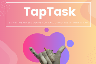 Taptask Werable Glove