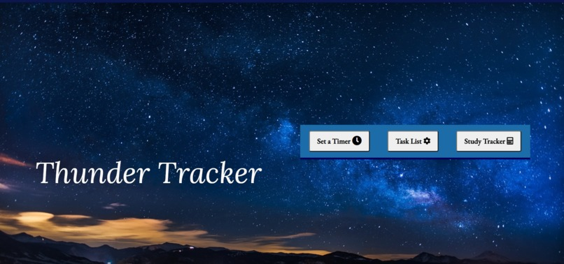 Thunder Tracker – screenshot 1