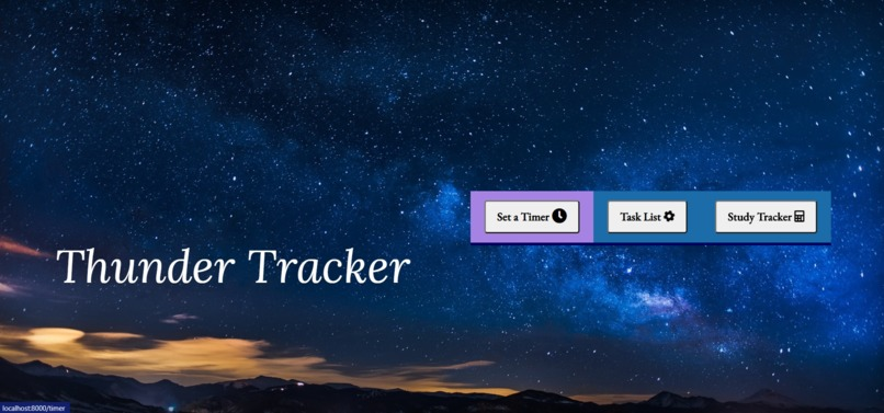 Thunder Tracker – screenshot 2