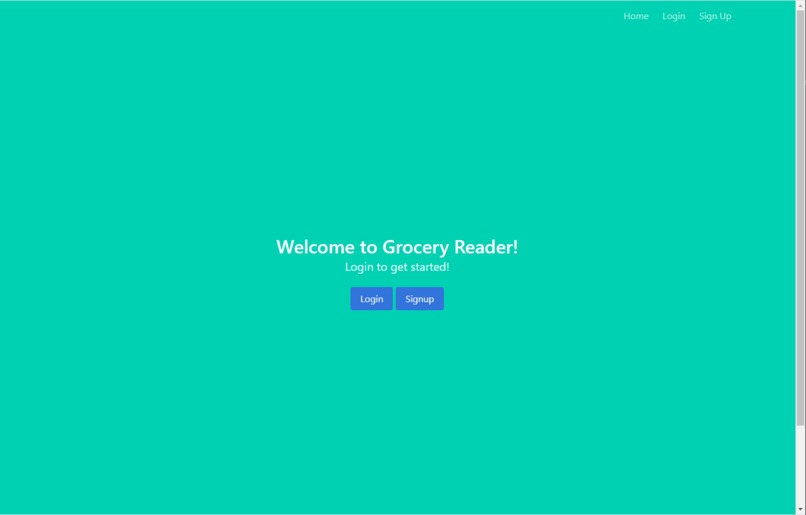 GroceryReader – screenshot 1