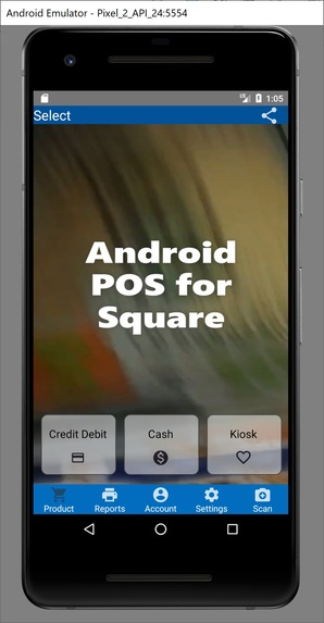 Android POS for Square transactions – screenshot 5