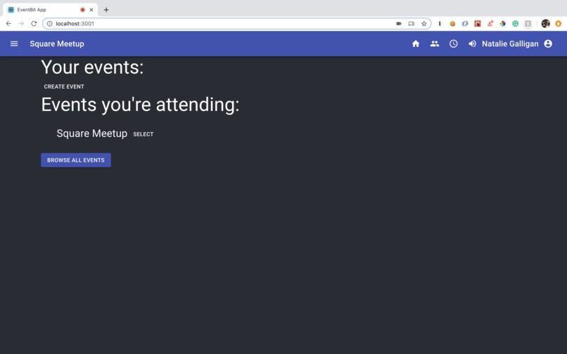 EventBit – screenshot 1