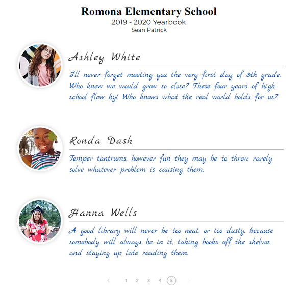 My Yearbook Pages – screenshot 6