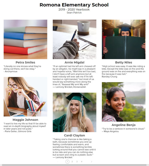 My Yearbook Pages – screenshot 8