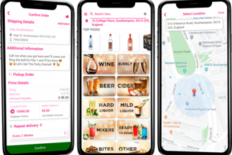 Drinxin  : Food & Drink Delivery React Native Application