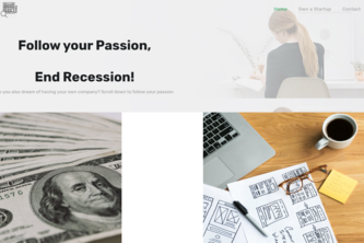 Follow your Passion, End Recession!