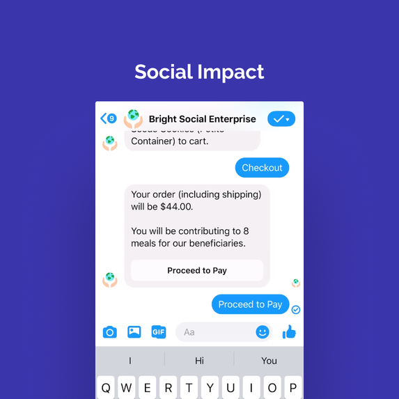 Bright: Social Enterprise Commerce Bot – screenshot 7
