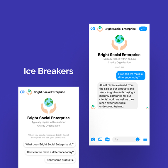 Bright: Social Enterprise Commerce Bot – screenshot 2