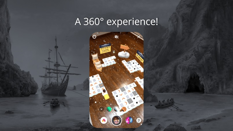 Pirate Dash 360  – screenshot 4