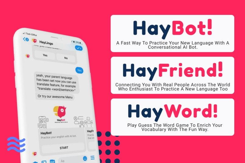 HayLingo! - Your New Language Practice Companion – screenshot 2
