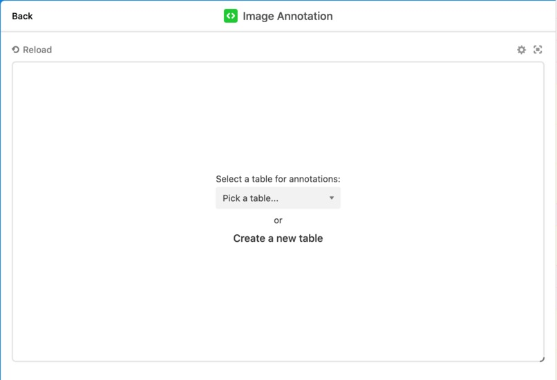 Image annotations custom block for Airtable – screenshot 1