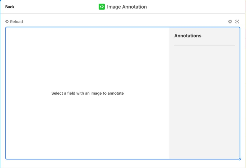 Image annotations custom block for Airtable – screenshot 2