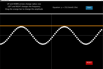 Interactive Sine Wave Learning Aid