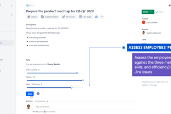 Employee Performance Ratings for Jira Cloud