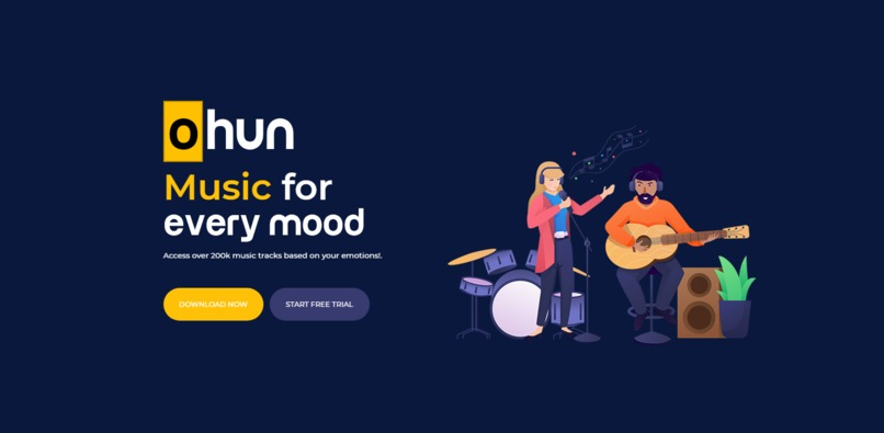 Ohun: Find your emotion-based music! – screenshot 2