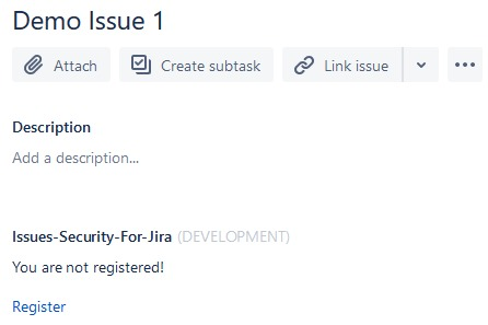 Issues Security for Jira – screenshot 1