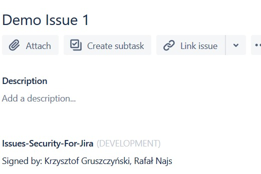 Issues Security for Jira – screenshot 8
