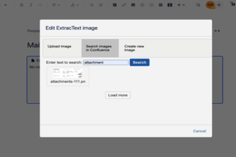 ExtracText for Confluence Cloud
