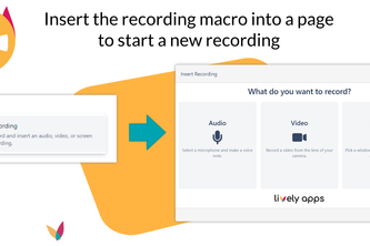 Lively Recorder for Confluence