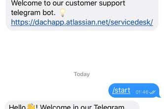 Telegram Support Channel