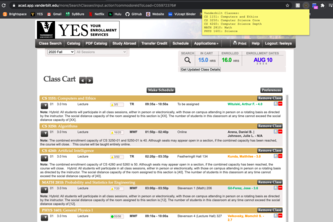 Vanderbilt Class Finder Chrome Extension
