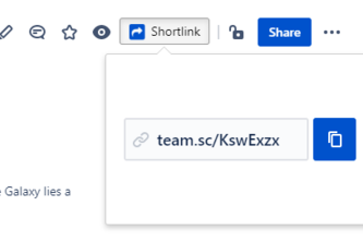 Shortlinks+ for Confluence & Jira