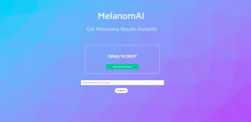 MelanomAI – screenshot 1