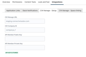 Integration with ConnectWise Manage for Confluence Cloud