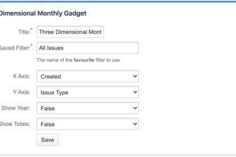 Three Dimensional Date Gadget for Jira Cloud