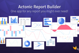 Actonic Report Builder