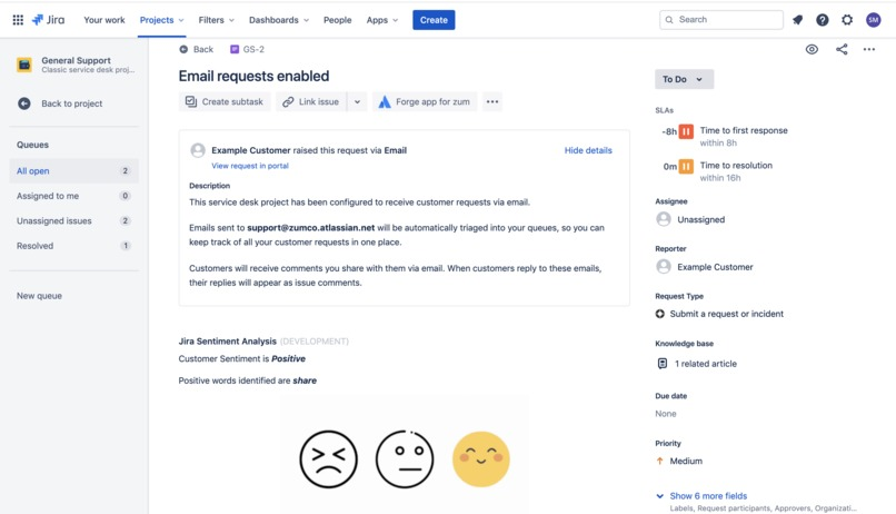 Jira Issue Analyzer – screenshot 4