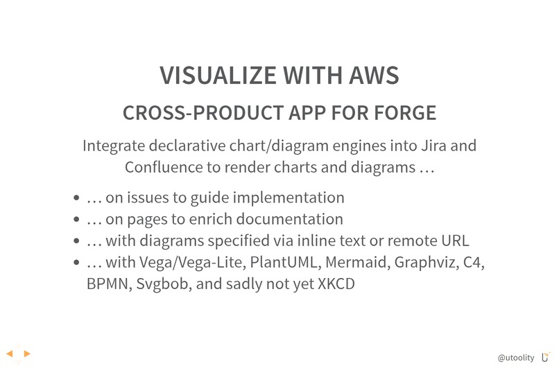 Visualize with AWS (Atlassian Forge) – screenshot 1