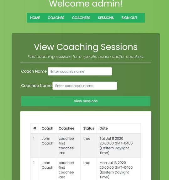 Coacher – screenshot 5